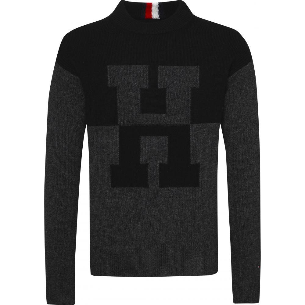 トミー ヒルフィガー Tommy Hilfiger メンズ トップス スウェット・トレーナー【Oversized Innovative Sweatshirt】jet black