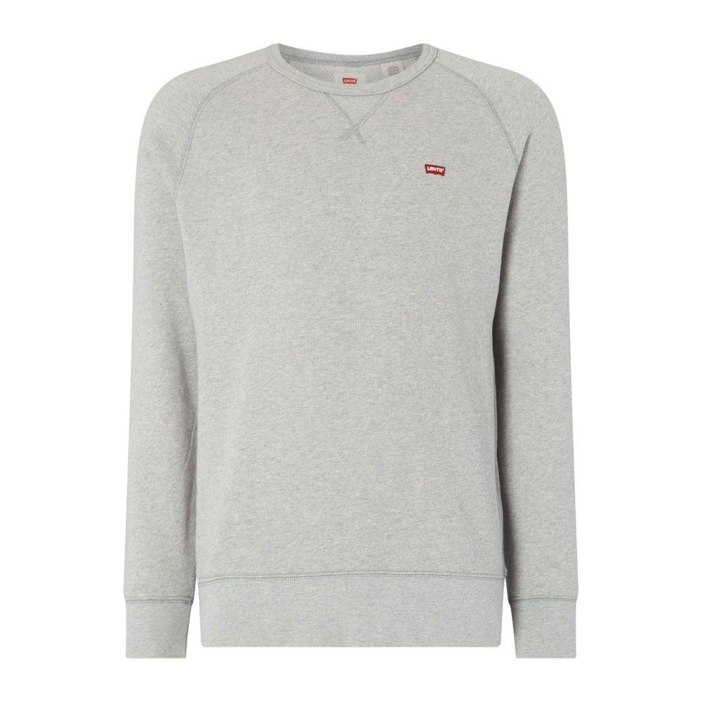 リーバイス Levi's メンズ トップス スウェット・トレーナー【Small Logo Crew Neck Sweatshirt】grey