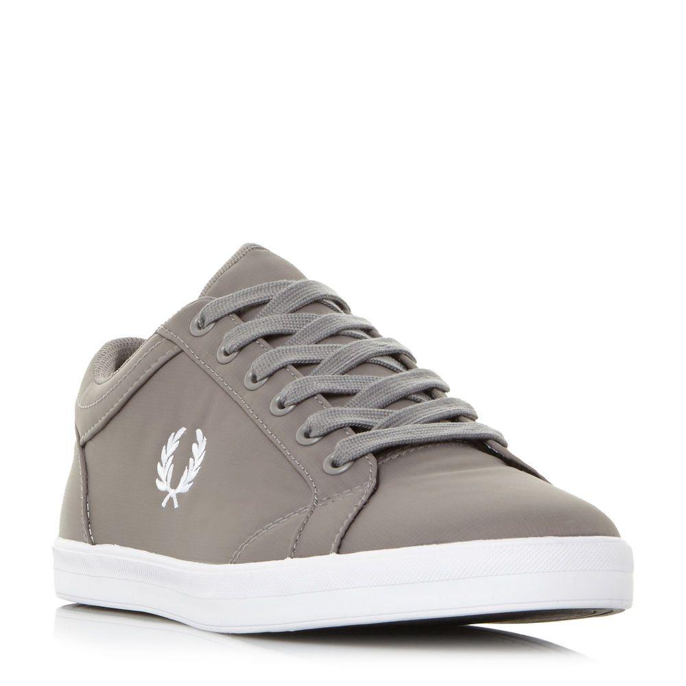 フレッドペリー Fred Perry メンズ シューズ・靴 スニーカー【Baseline Ripsto Nylon Sneakers】grey