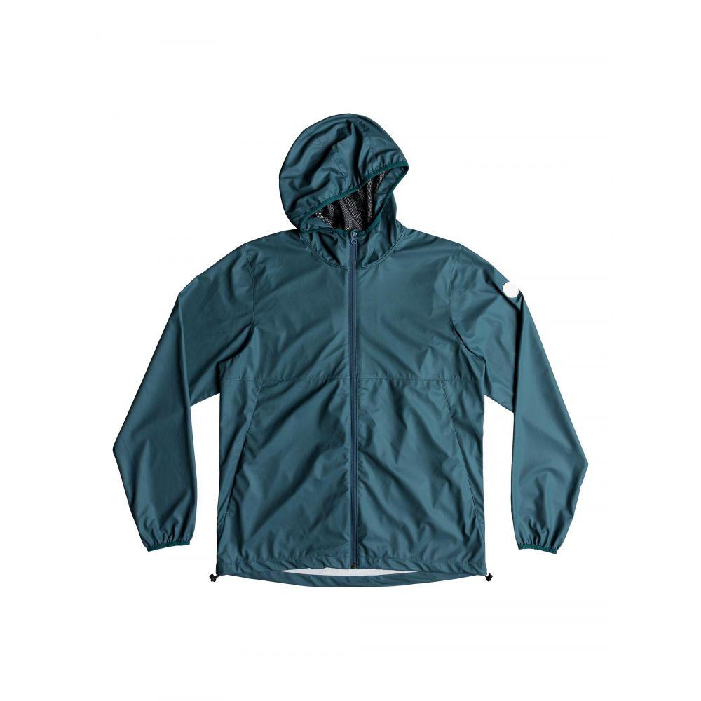 クイックシルバー Quiksilver メンズ アウター レインコート【Kamakura Rains Hooded Rain Jacket】green