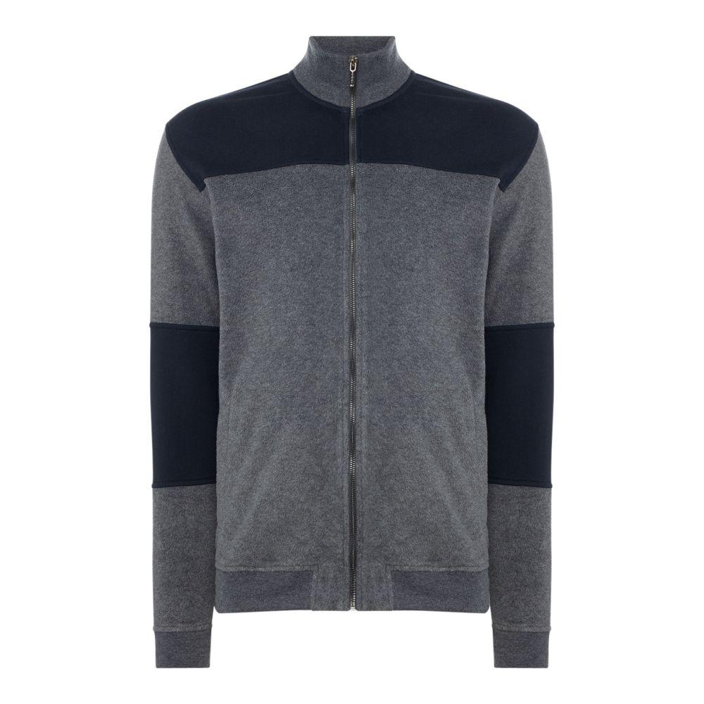 ミニマム Minimum メンズ トップス スウェット・トレーナー【Zipped Sweatshirt】dary grey marl