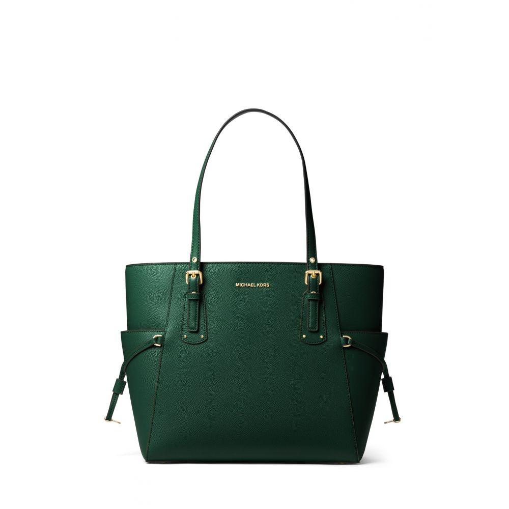 マイケル コース Michael Kors レディース バッグ トートバッグ【Voyager Signature Tote Bag】dark green