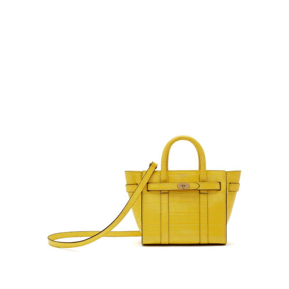 マルベリー Mulberry Mulberry レディース バッグ ハンドバッグ Zipped【Micro Zipped Bayswater レディース Bag】citrus yellow, クメジマチョウ:44f015ca --- sunward.msk.ru