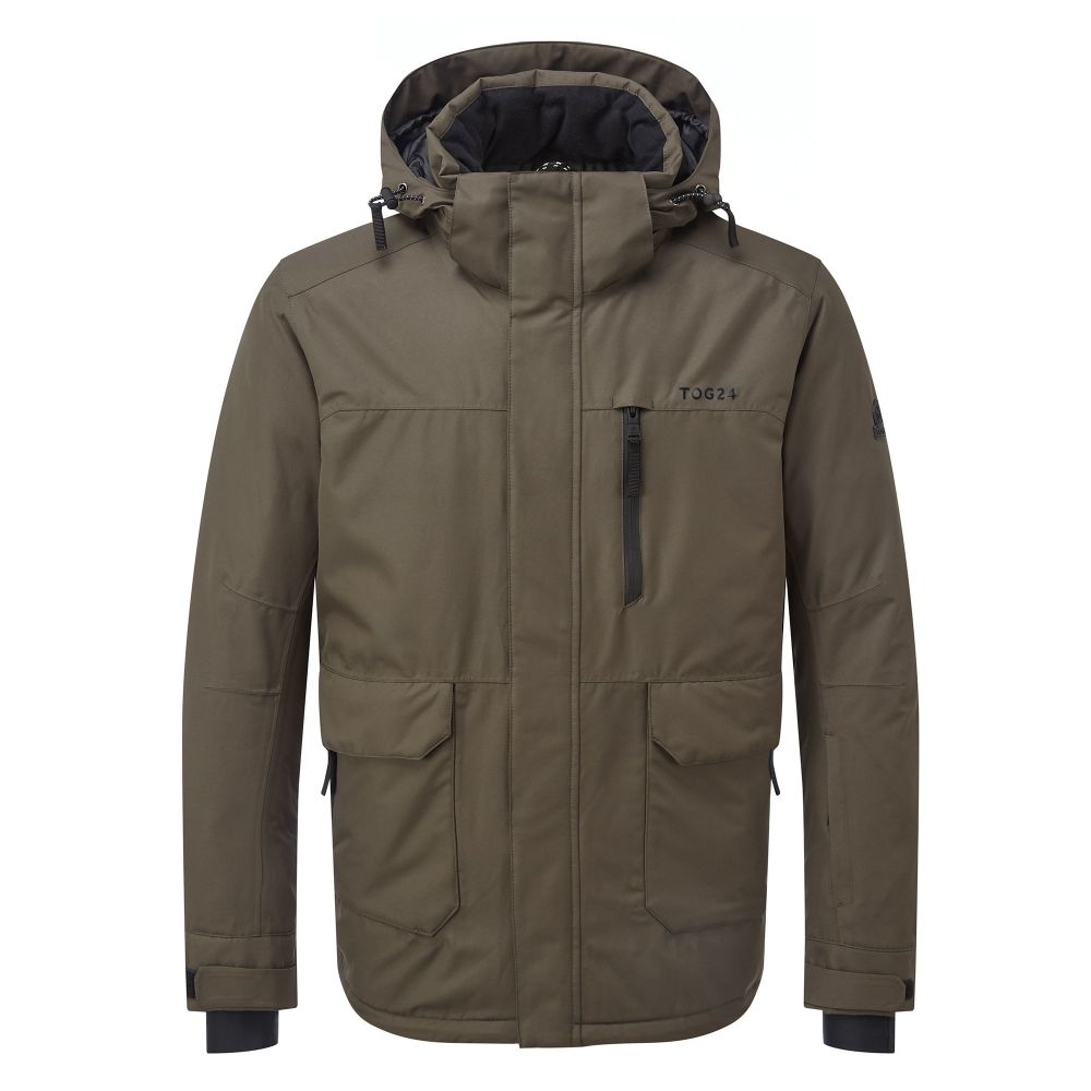 トッグ24 Tog 24 メンズ スキー・スノーボード アウター【Vertigo Waterproof Insulated Ski Jacket】dark khaki