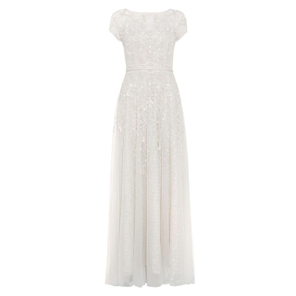 フェーズ エイト Phase Eight レディース ワンピース・ドレス パーティードレス【Mylee Embellished Bridal Dress】cream