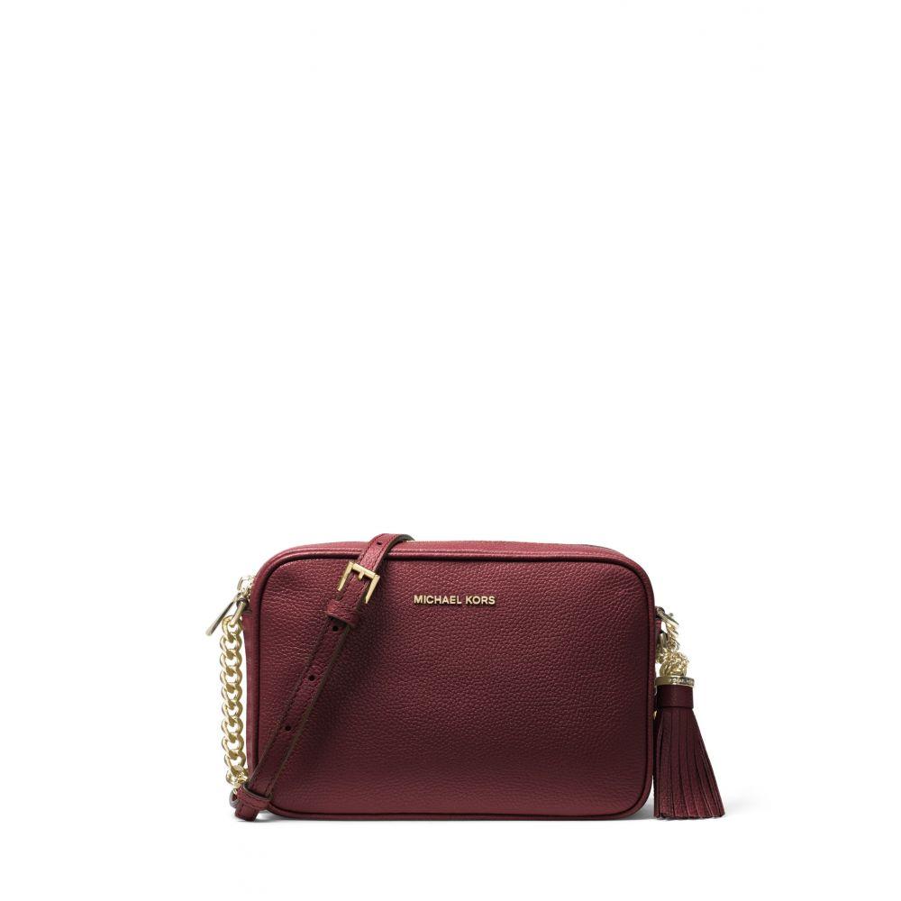 マイケル コース Michael Kors レディース バッグ【Crossbodies Medium Camera Crossbody Bag】burgundy