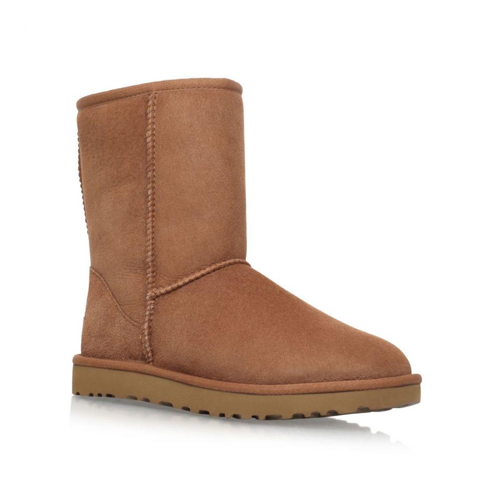 アグ UGG レディース シューズ・靴 ブーツ【Short Chestnut Classic Ii Boots】brown