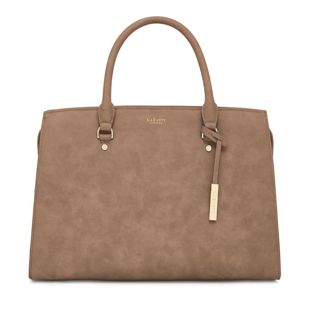ラヴァンテ LaBante レディース バッグ パソコンバッグ【Aricia Vegan Laptop Bag】brown