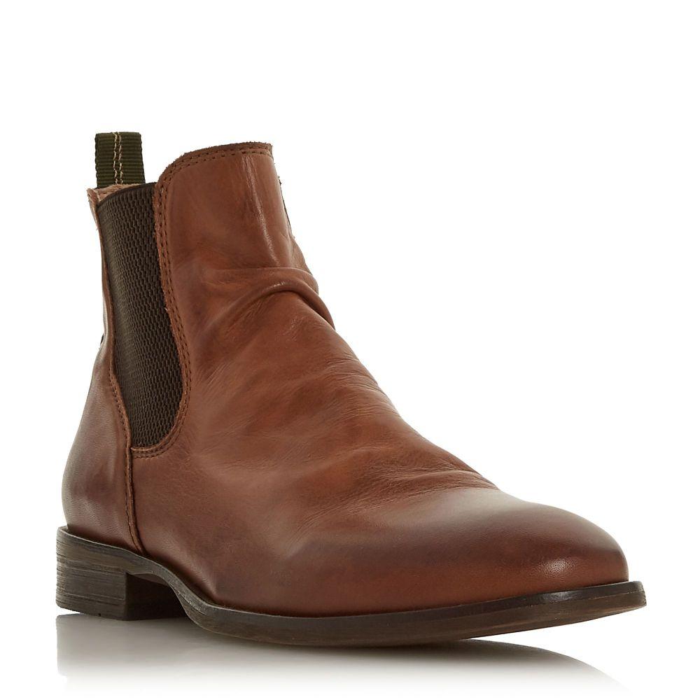 バーティ Bertie メンズ シューズ・靴 ブーツ【Cage. Pinched Gusset Chelsea Boots】brown
