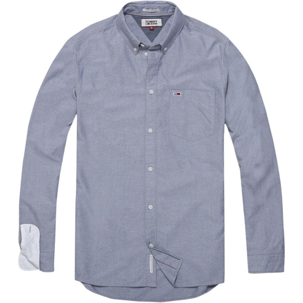 トミー ヒルフィガー Tommy Hilfiger メンズ トップス シャツ【Tommy Jeans Classic Shirt】blue