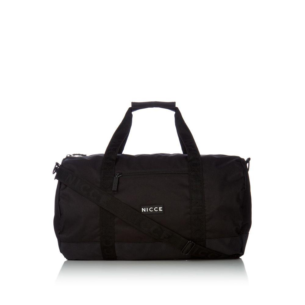 ニッチェ ロンドン Nicce メンズ バッグ ボストンバッグ・ダッフルバッグ【Barrel Bag】black