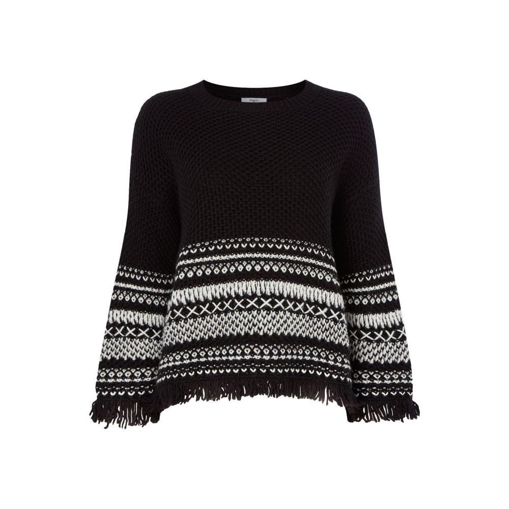 サンクー Suncoo レディース トップス ニット・セーター【Patrix Chunky Knitted Jumper】black