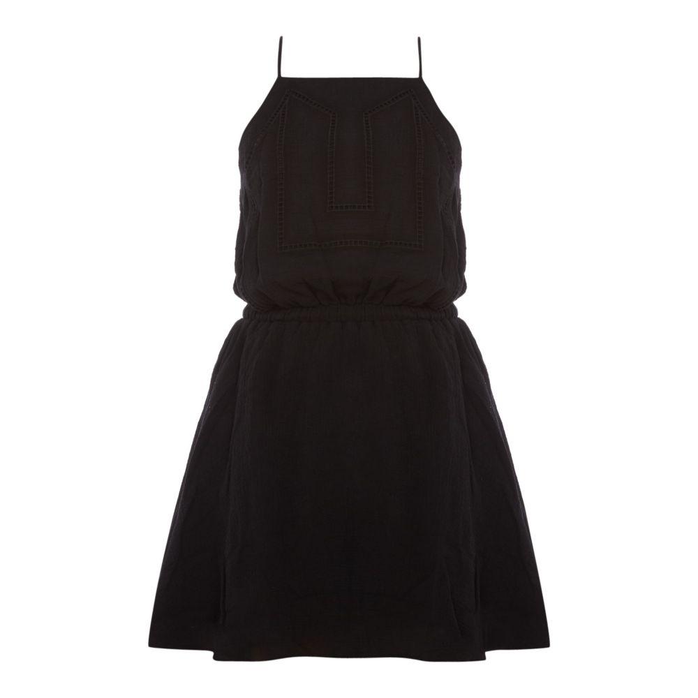 シーフォリー Seafolly レディース 水着・ビーチウェア ビーチウェア【Ladder Embroidered Beach Dress】black, ジーバンク:458dc37d --- egrip.jp