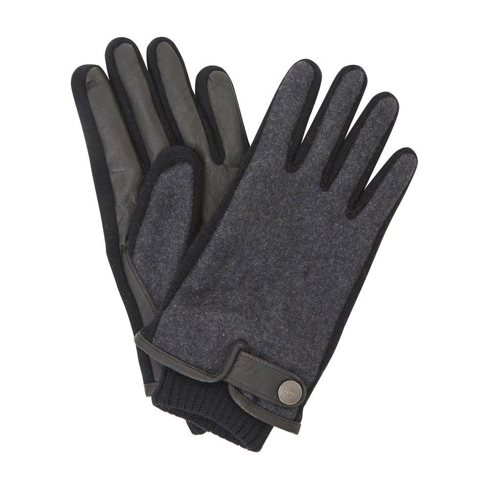 デューン Dune メンズ 手袋・グローブ【Nenzo Borg Lined Leather Gloves】black