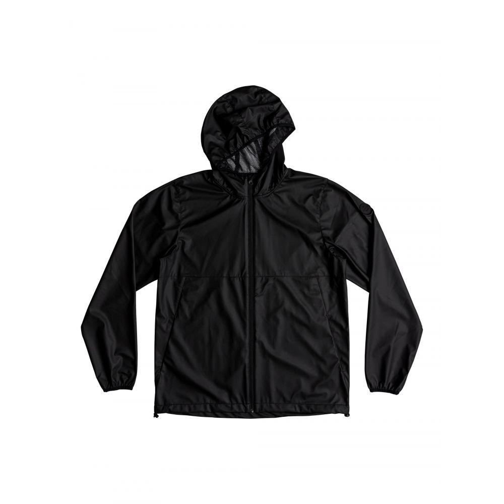 クイックシルバー Quiksilver メンズ アウター レインコート【Kamakura Rains Hooded Rain Jacket】black