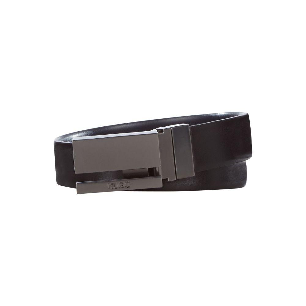 ヒューゴ ボス Hugo Boss メンズ ベルト【Plain Leather Belt】black