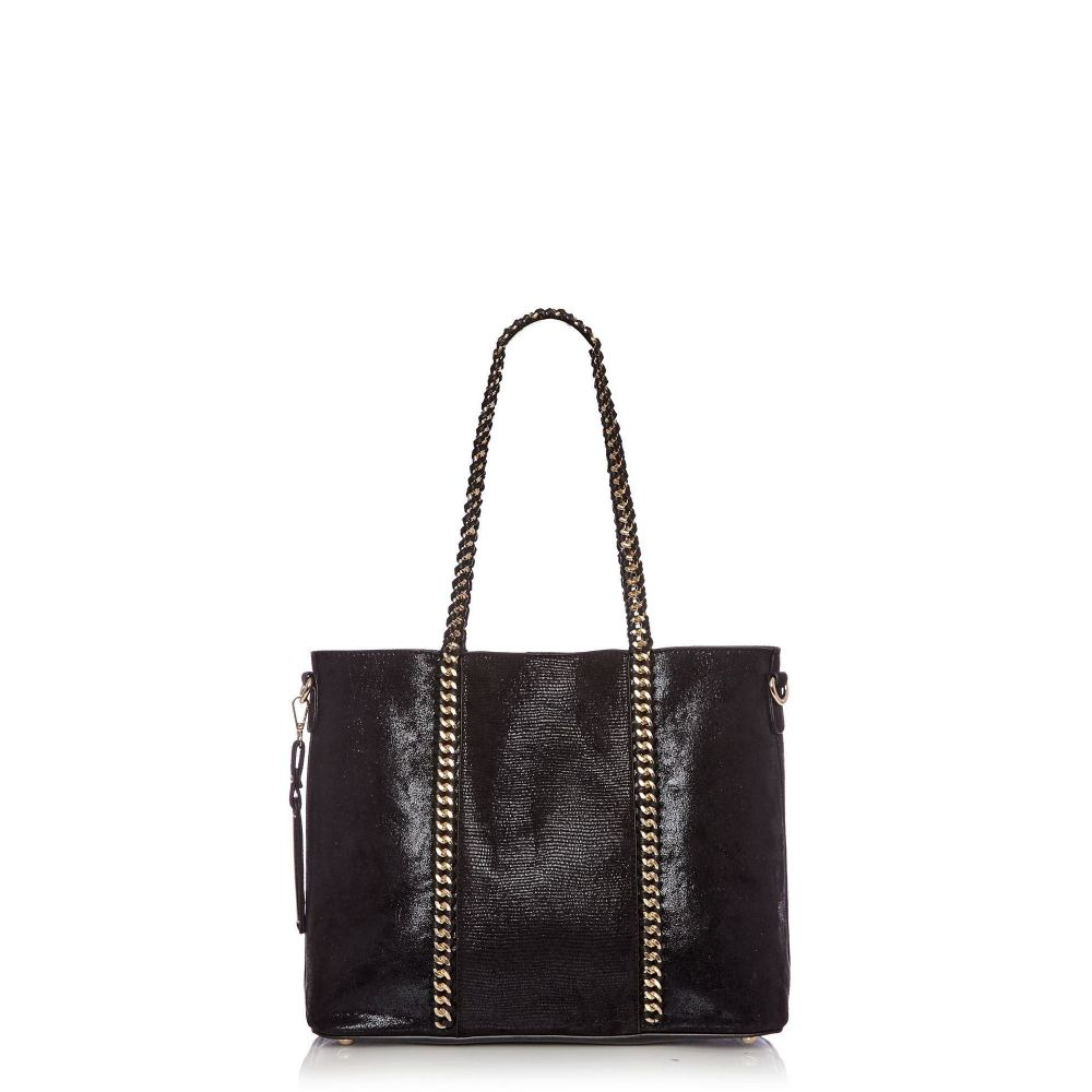 モーダインペレ Moda in Pelle バッグ レディース バッグ ハンドバッグ Handbag】black【Barlibag in Casual Handbag】black, ファブリック ロッソ:a83d9a3d --- sunward.msk.ru