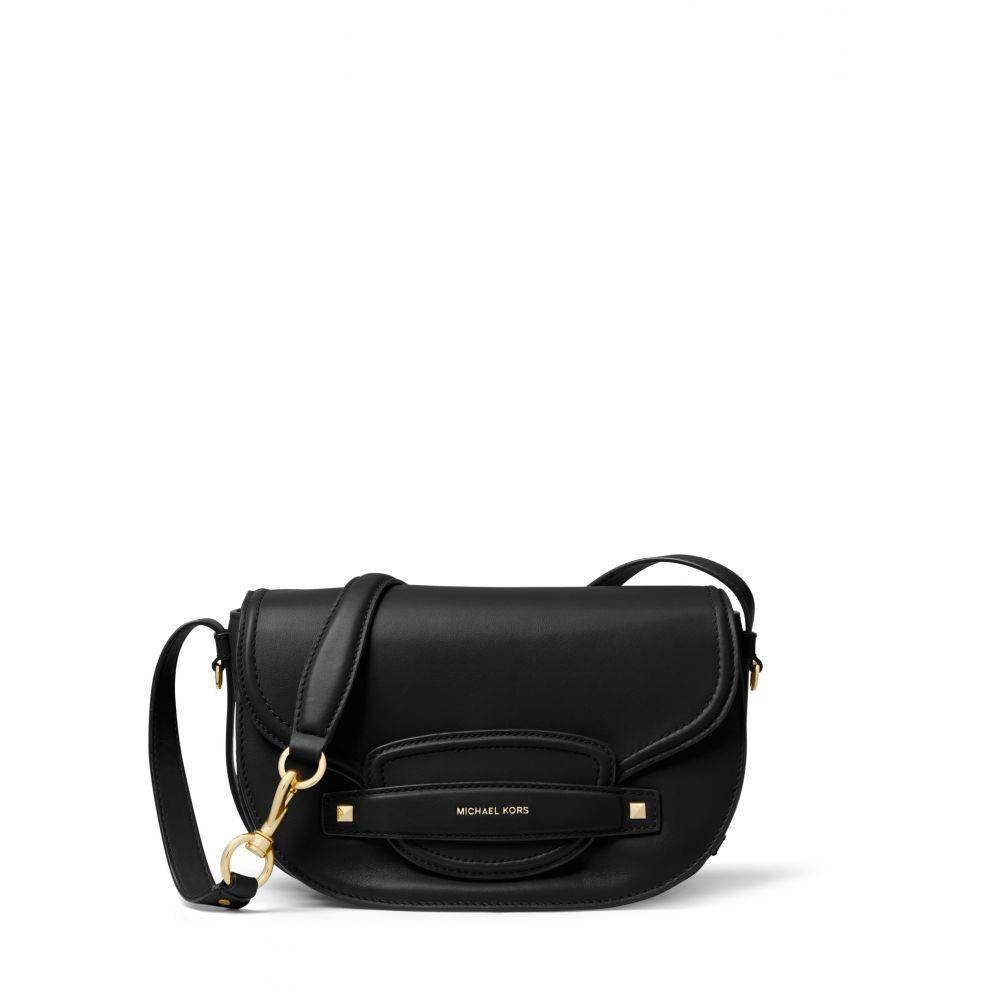 マイケル コース Michael Kors レディース バッグ ハンドバッグ【Cary Medium Saddle Bag】black
