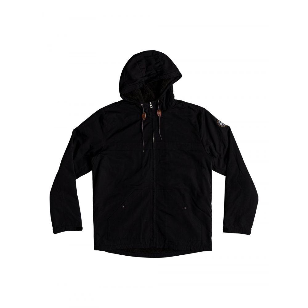 クイックシルバー Quiksilver メンズ アウター コート【Wanna Water Resistant Hooded Parka】black