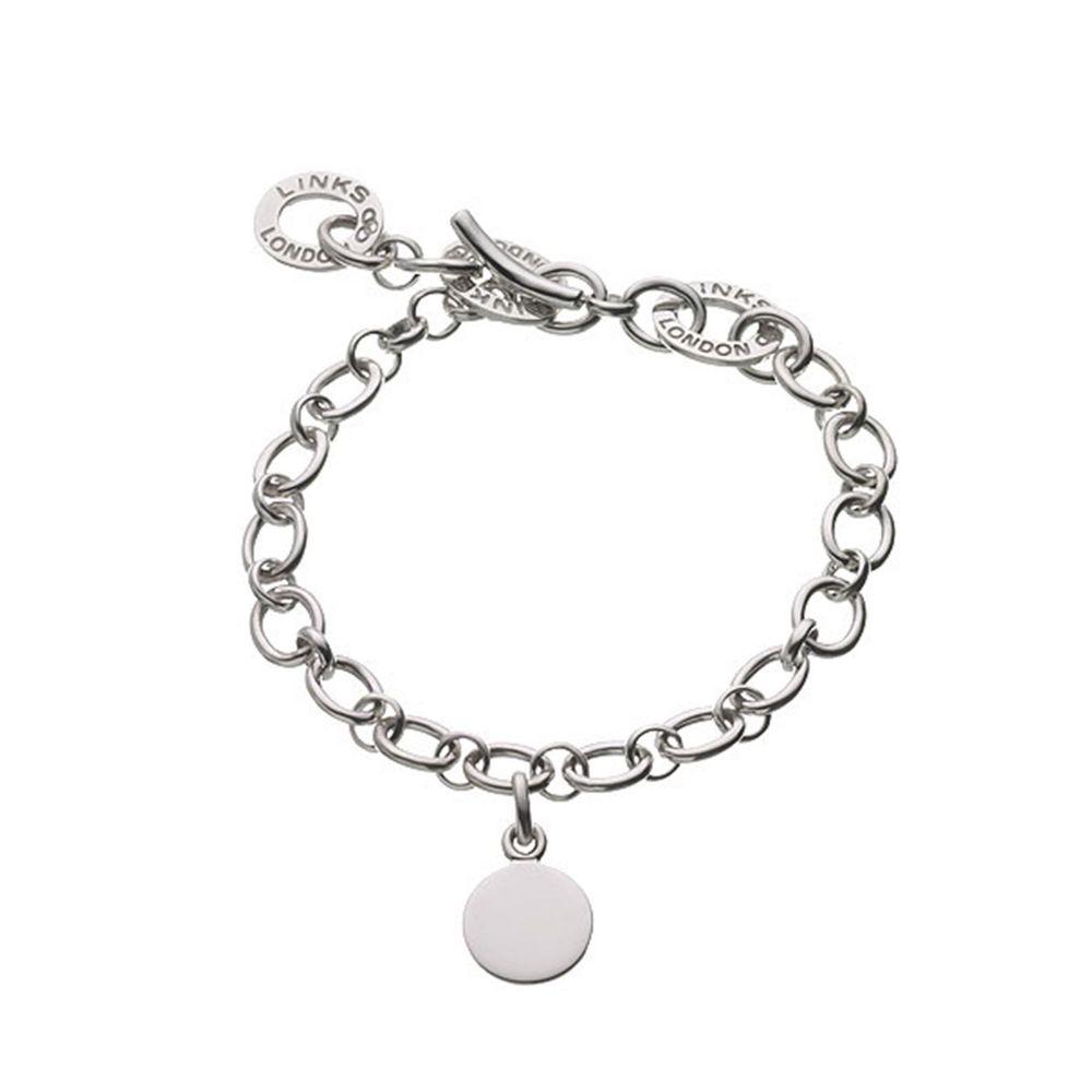 リンクス オブ ロンドン Links of London レディース ジュエリー・アクセサリー ブレスレット【Baby Disc Charm Bracelet】
