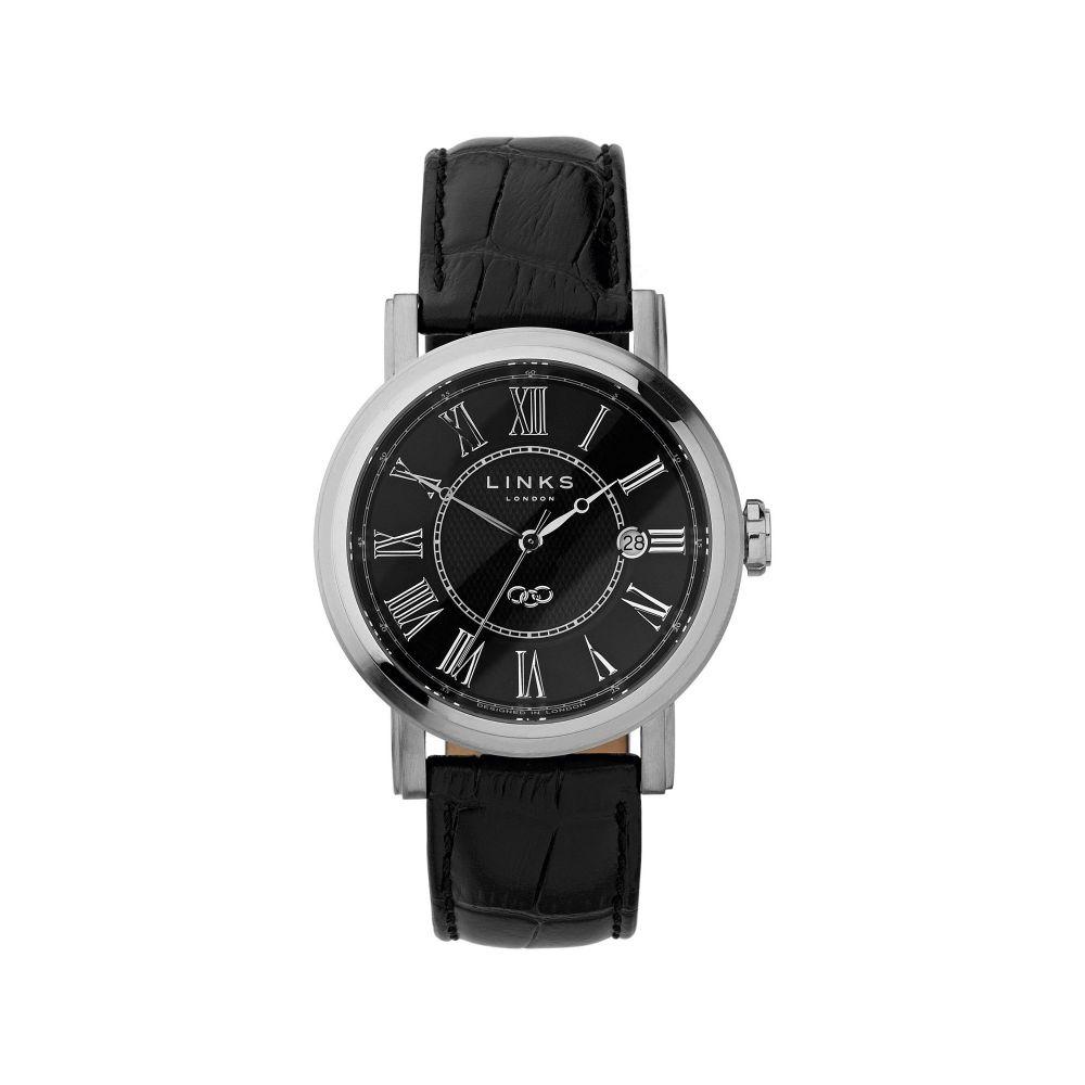 リンクス オブ ロンドン Links of London メンズ 腕時計【Richmond Black Dial Watch】black