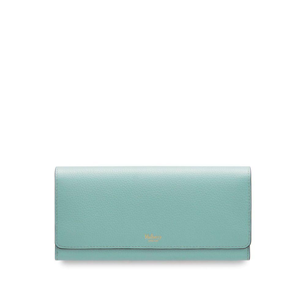 マルベリー Mulberry レディース 財布【Continental Wallet】antique blue