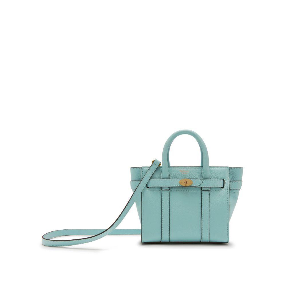 マルベリー Mulberry レディース バッグ ハンドバッグ【Micro Zipped Bayswater Bag】antique blue