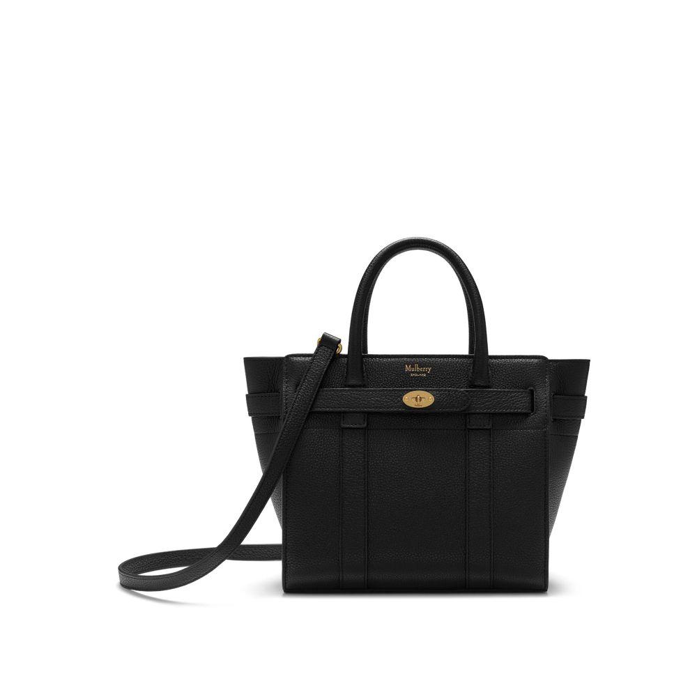 マルベリー Mulberry レディース バッグ ショルダーバッグ【Mini Zipped Bayswater Bag】black