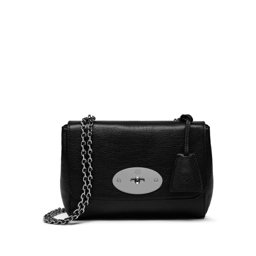 マルベリー Mulberry レディース バッグ ショルダーバッグ【Lily Shoulder Bag】black-silvertone