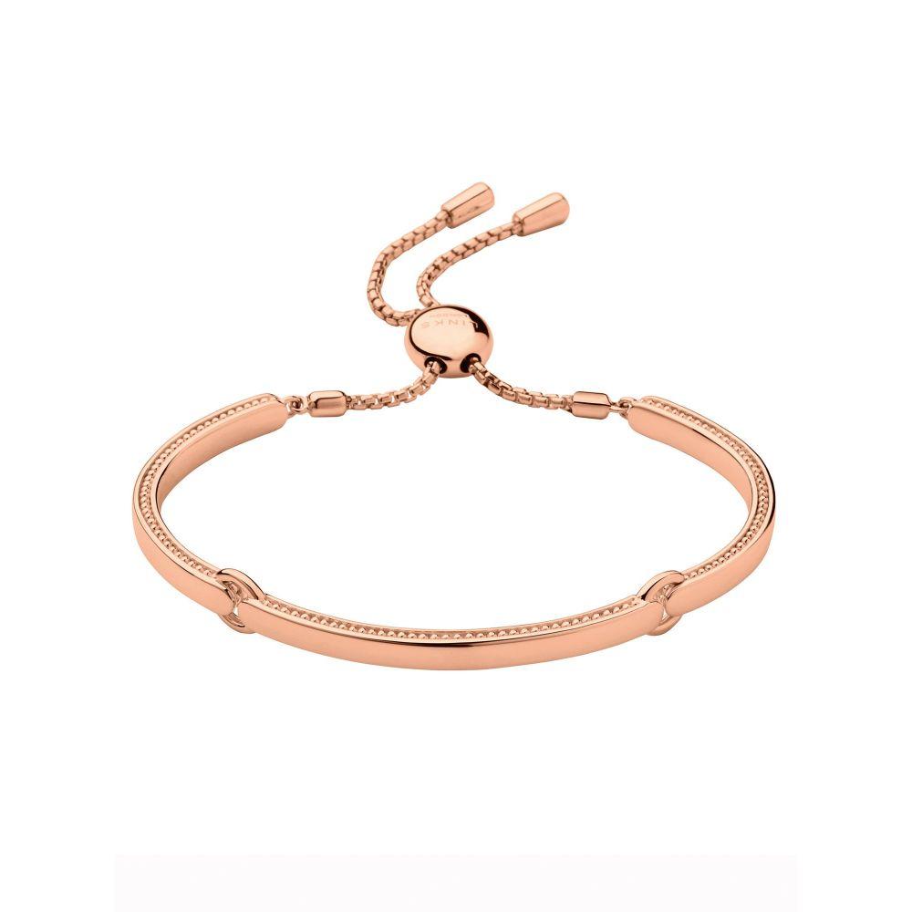 リンクス オブ ロンドン Links of London レディース ジュエリー・アクセサリー ブレスレット【Narrative Bracelet 18ct Rose Gold Vermeil】rose gold