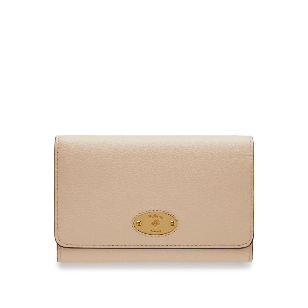 マルベリー Mulberry レディース 財布【Medium French Purse】linen beige