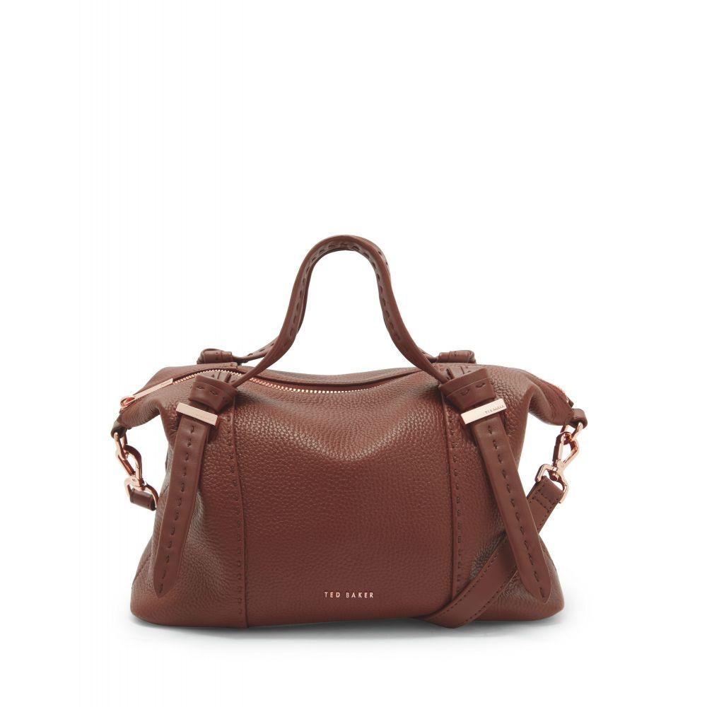 テッドベーカー Ted Baker レディース バッグ トートバッグ【Knotted Handle Small Tote Bag】brown