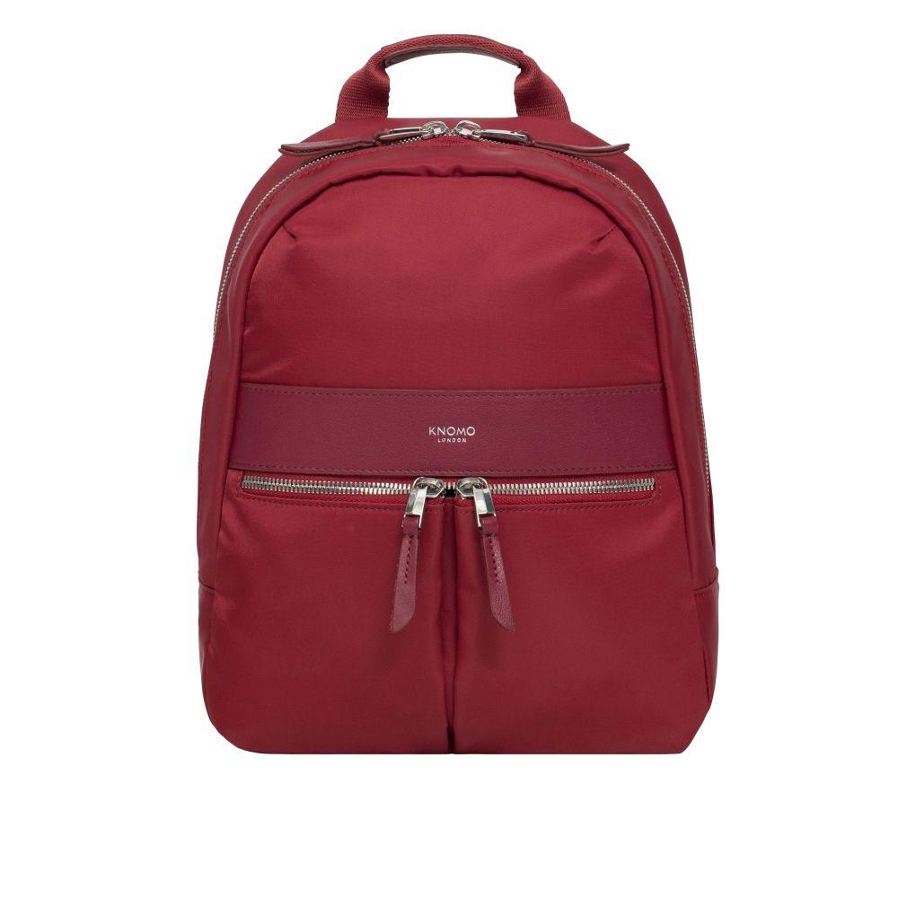 クノモ Knomo レディース バッグ パソコンバッグ【Mayfair Mini Beachamp Cherry Red Backpack 10】cherry