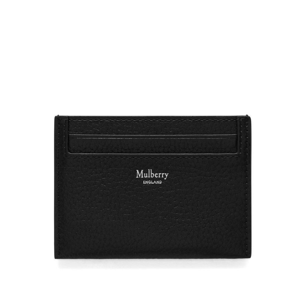 マルベリー Mulberry レディース カードケース・名刺入れ【Classic Credit Card Slip】black
