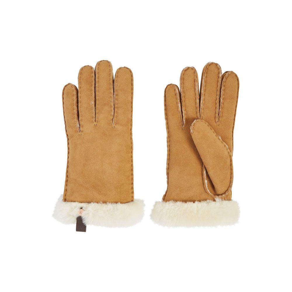 アグ UGG レディース 手袋・グローブ【Sheepskin Tenny Glove】chestnut
