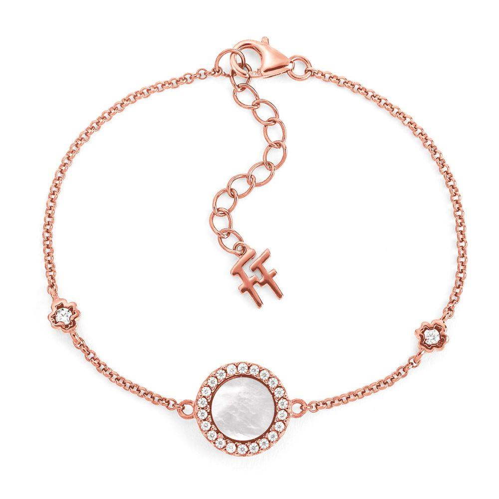 フォリフォリ Folli Follie レディース ジュエリー・アクセサリー ブレスレット【H4h Mirrors Rose Gold Plated Bracelet】rose gold