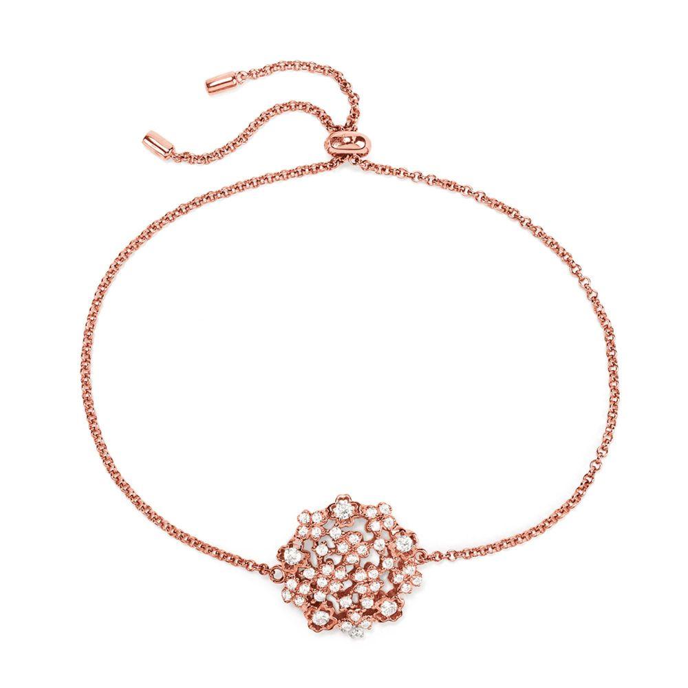 フォリフォリ Folli Follie レディース ジュエリー・アクセサリー ブレスレット【Bouquet Rose Gold Bracelet】rose gold