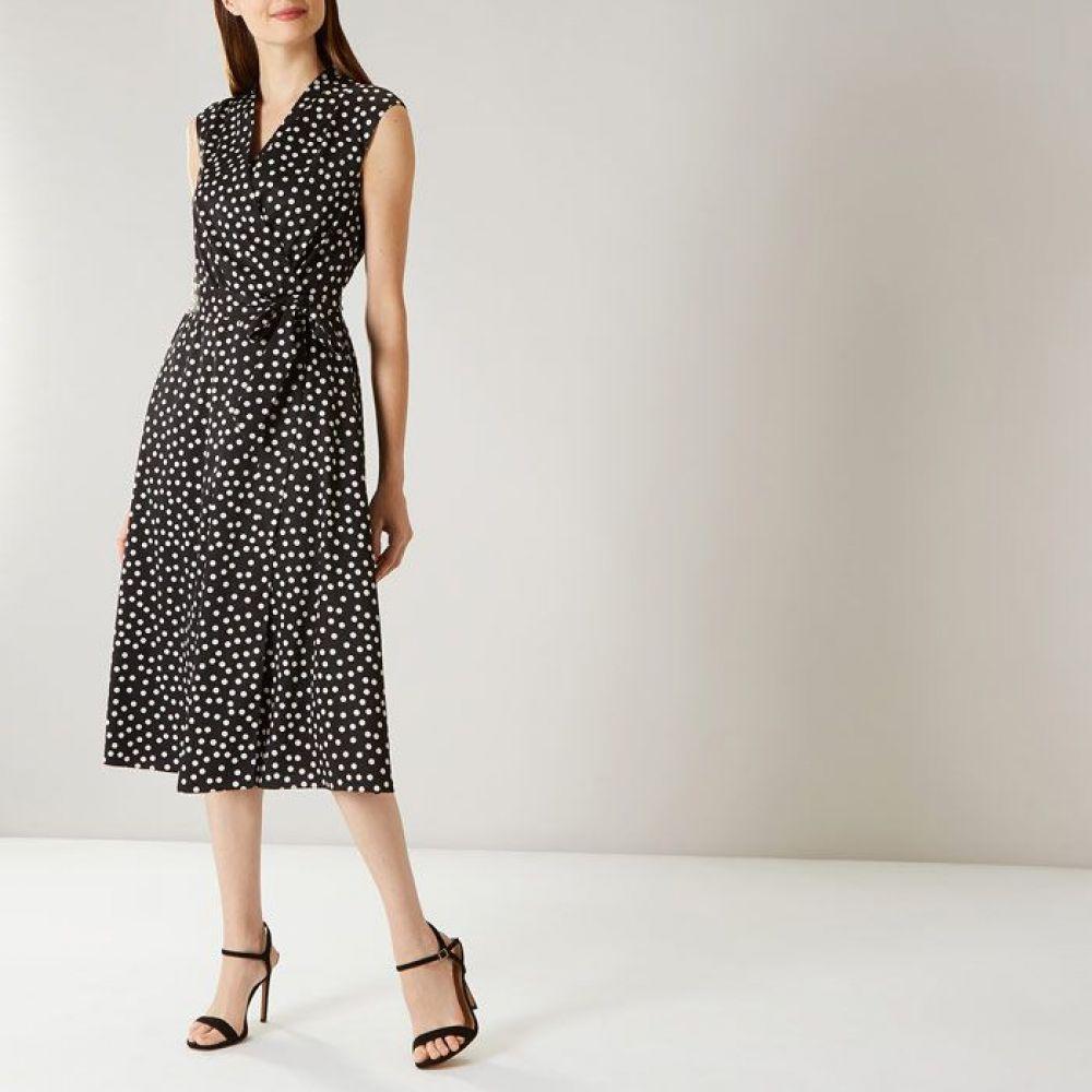 コースト Coast レディース ワンピース・ドレス ワンピース【Daisy Spot Shift Dress D】black