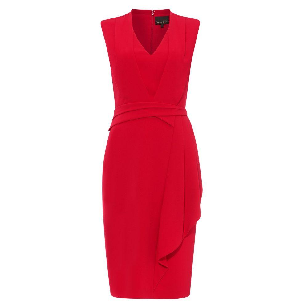 フェーズ エイト Phase Eight レディース ワンピース・ドレス ワンピース【Clarissa Drape Detail Dress】raspberry