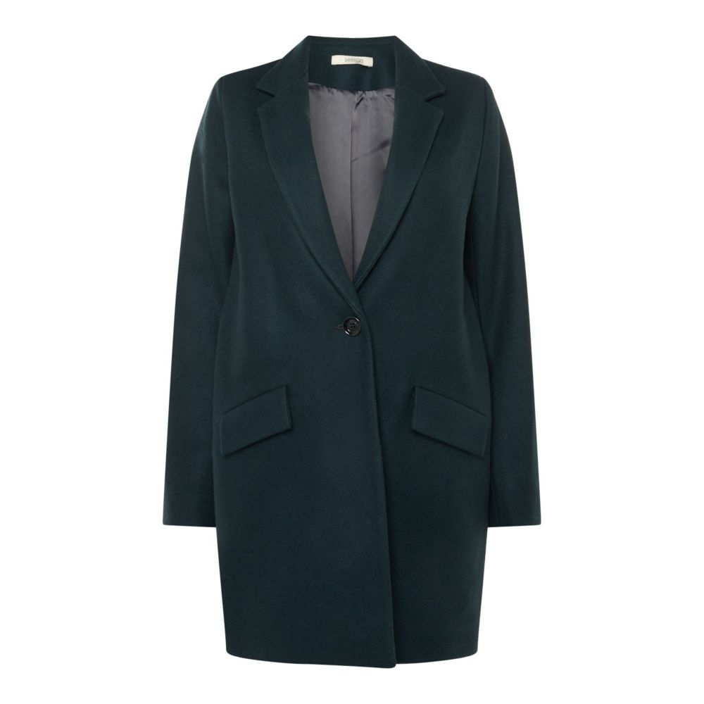 激安超安値 セッスン レディース Sessun レディース アウター Wool コート【Collared Wool Over Coat】teal Coat】teal, 中外徽章株式会社:c04c1105 --- saleart.top