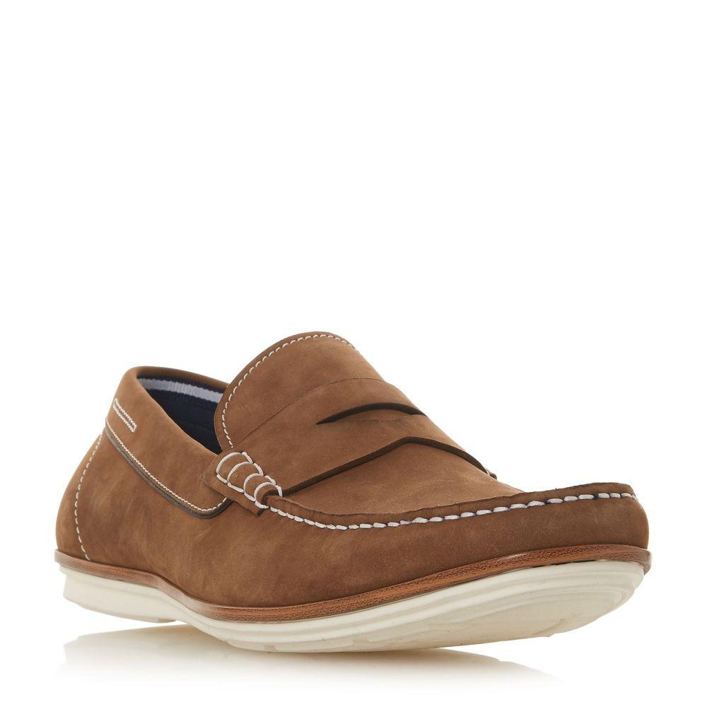 デューン Dune メンズ シューズ・靴 ローファー【Baloon Casual Apron Loafers】tan