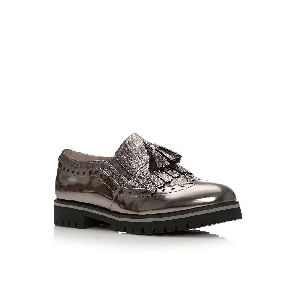 モーダインペレ Moda in Pelle レディース シューズ・靴【Gemmia Low Smart Shoes】pewter