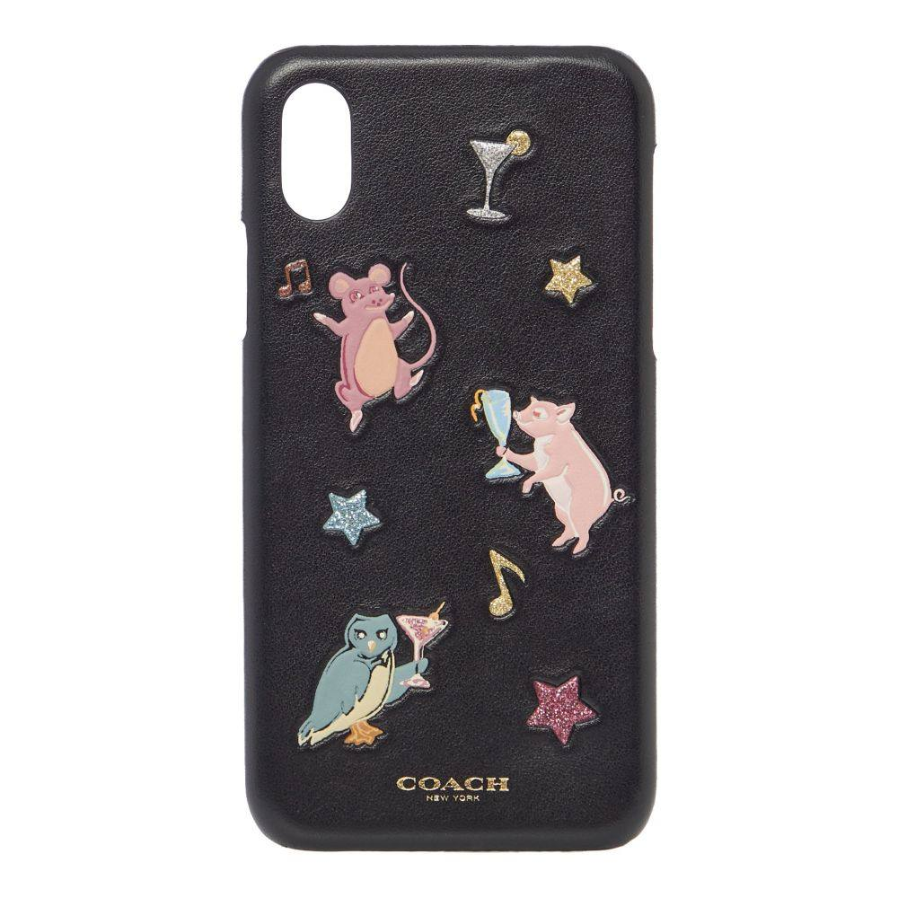 コーチ Coach レディース スマホケース【Party Animals Phonecase】multi-coloured