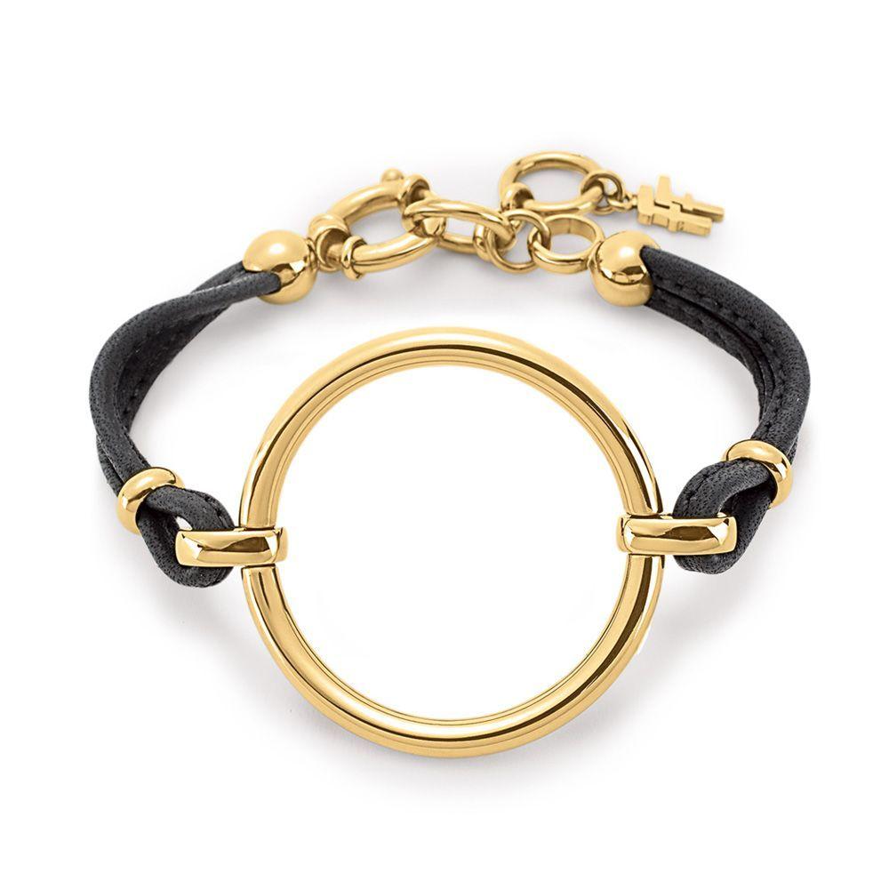 フォリフォリ Folli Follie レディース ジュエリー・アクセサリー ブレスレット【Metal Chic Bracelet】gold