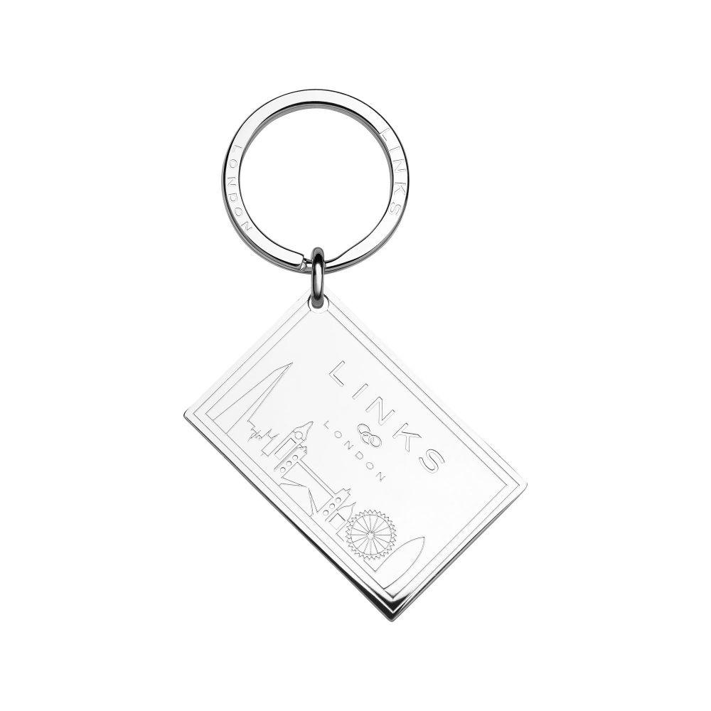 リンクス オブ ロンドン Links of London レディース キーホルダー【Silver Plated Postcard Keyring】silver
