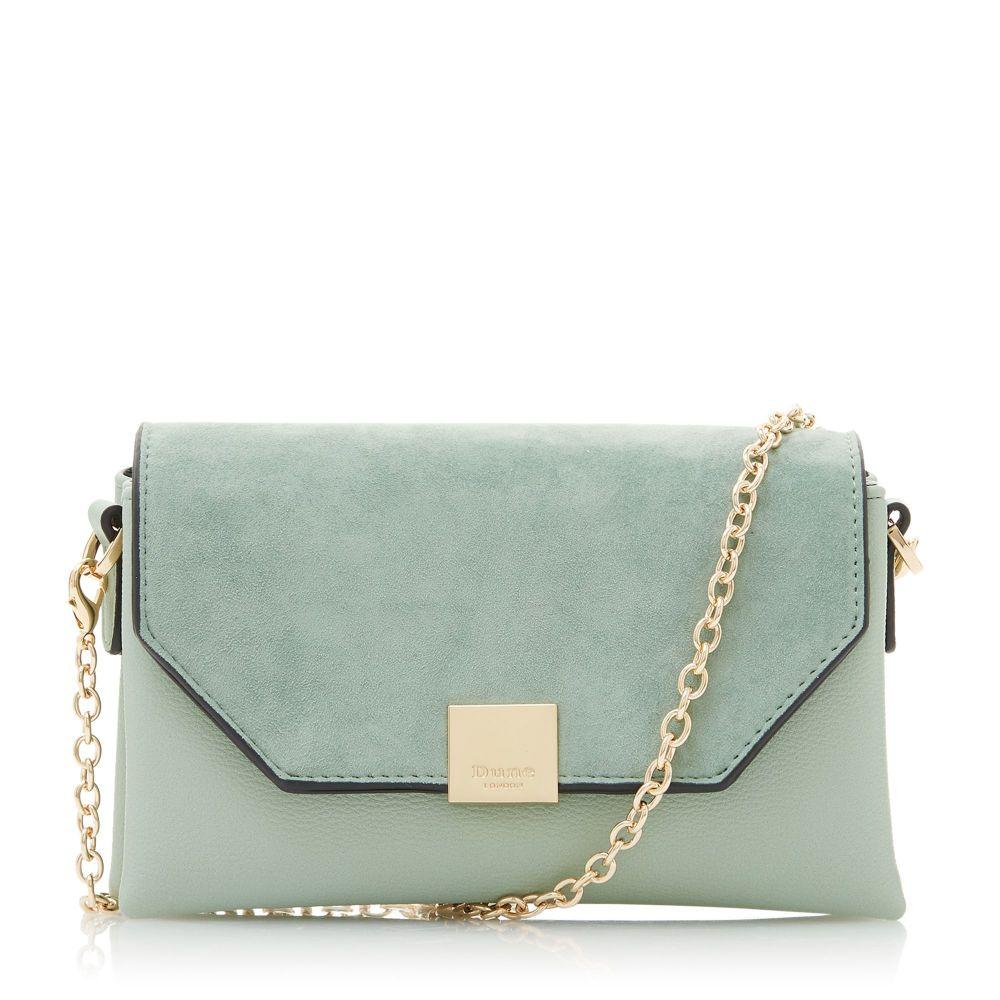デューン Dune レディース バッグ バッグ ハンドバッグ Bag】green【Esterr Jewelled Chain Handle デューン Bag】green, ミュージックフォリビング:ae50a23e --- nem-okna62.ru