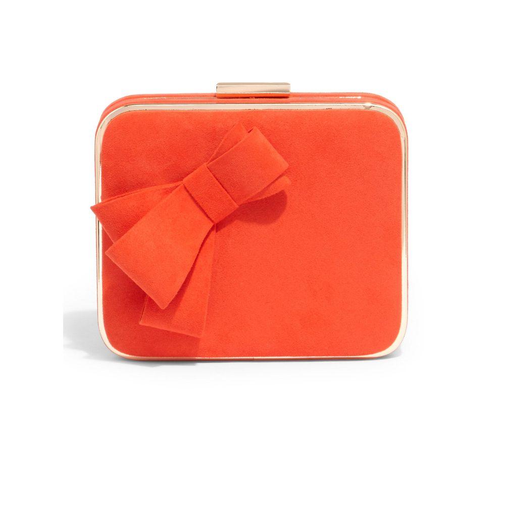 フェーズ エイト Phase レディース Eight レディース エイト バッグ クラッチバッグ【Allie Clutch Bow Clutch Bag】red, 4CUPS+DESSERTS:f3f589a7 --- nem-okna62.ru