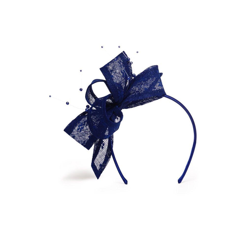 フェーズ エイト Phase Eight レディース ヘアアクセサリー【Adeline Pearl Headband】blue