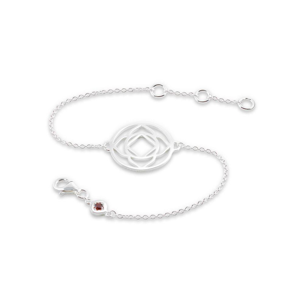 Daisy レディース ジュエリー・アクセサリー Bracelet】silver Chain Chakra London ブレスレット【Base デイジーロンドン