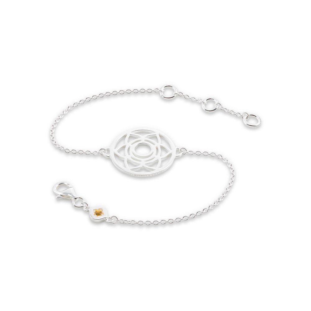 デイジーロンドン Daisy London レディース ジュエリー・アクセサリー ブレスレット【Sacral Chakra Chain Bracelet】silver